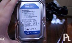 Selling WD Blue 500GB HDD for desktop for PhP 1,200