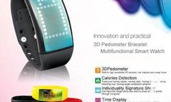 """W4 intelligent 3D U disk watch pedometer you can show"