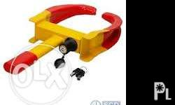 JB330: CAR WHEEL CLAMP A wheel clamp is a device that