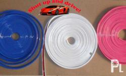 Wheel Mag Lip Protector (Available in Red, White, Blue,