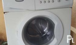 A powerful motor machine to wash your clothes clean