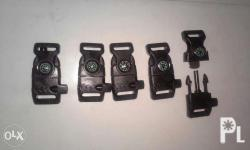 4in1 buckles for paracord 1st pic- 120 per pc 90/pc for