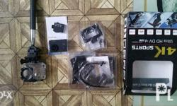 Wifi sports camera, package with Japan surplus bike,