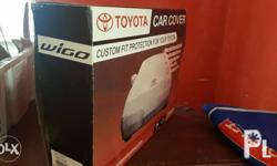 Car cover bought from Toyota With seat cover Location: