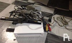 Selling my used Nintendo Wii Reason for selling: No