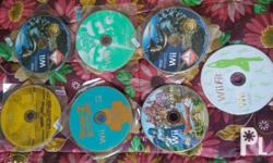 P 250.00 each CD for your Wii gaming consoles