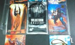 Out-of-print cards: Wildstorm Gallery - 6 over-sized