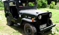Willys jeep 4x2 4k engine Complete papers