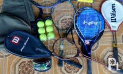 (Good Activity, Good Exercise,) Wilson Racquet, with