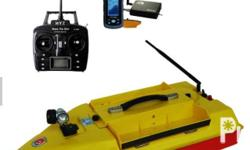 Our Wireless Fish Finder Boat can be operated with a