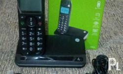 DECT cordless phone with caller ID /call waiting