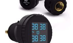 TPMS Tire Pressure LCD Monitoring System Cigarette