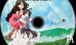 Wolf Children - Bluray with Dual Audio Comes with Case