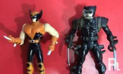 Set of 2 vintage wolverine Both loose Meet ups: Max's