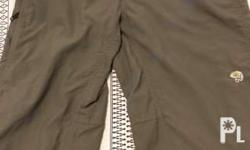 Pre-loved Mountain Hardwear Trek/ Hiking Pants: - In