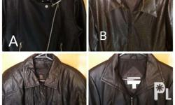 Womens Brandnew & Slight Used Leather Jacket All