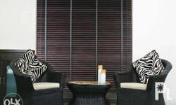 """""""Wooden Blinds for as low as P299 per sqr ft up -NOW"""