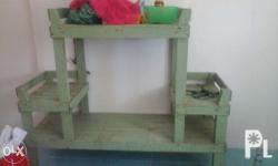 For sale wood placer for tv books and shoes reason for