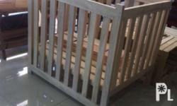Crib Standard Size made of Durable Gemilina wood