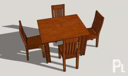 Dining set 4 seater made in gmilena We accept made to