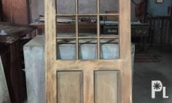 Wooden Panel Doors For Sale P3,000 each And Flush door