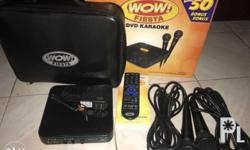Videoke, DVD and Multimedia Player in One 2,485 songs