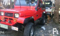 Forsale my wranger type jeep 4x2 Power steering Toyota