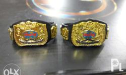 WWE Mattel Classic World Tag Team Belt Brandnew Actual