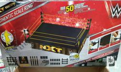 WWE Mattel NXT Elite Scale Ring Actual photo Meetups:
