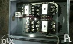 wye delta / star delta/ reverse forward switch MADE TO