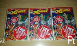 Sealed X-Force issue #1 3 pcs for 1500 or 500 per