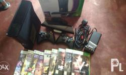 slightly used galing dubai with 9 games 2 controller