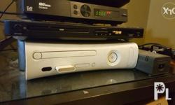 2 orig controllers (1 wireless) With HDD and memory