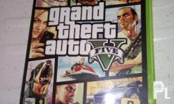 Pre-owned XBOX 360 Games and Controller GTA V: P1000