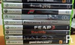 Xbox 360 games 750 each Some games for 500