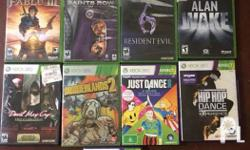For sale or swap xbox 360 games All working on asian