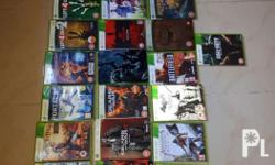 31 Xbox 360 games l From 500 pesos per game Buyer pays