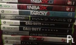 Xbox 360 games For sale All in good in condition