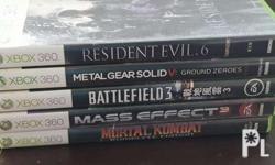 All 5 games for â�±2,000.00 Meet up area: Dasmari�±as