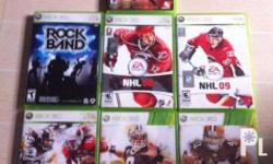 Xbox 360 games for sale or for trade All from US. All