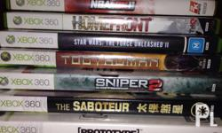Xbox 360 games for sale!! Works with asian consoles.