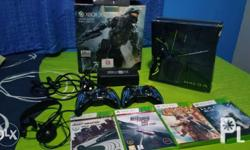 For sale: XBOX 360 Halo4 Limited Edition 320GB hard