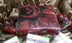Xbox 360 With 3 original game Plus 30 download game