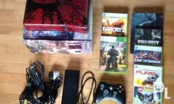 Xbox 360 limited edition Gears of war with 6 games as