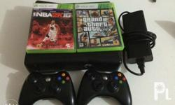 Xbox 360 S With box 2 orig controllers Hdmi Power