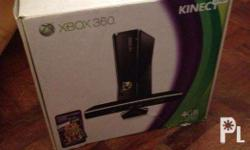 Comes with: -Xbox 360 Slim with 4GB memory and Kinect