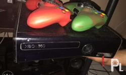 90% good as brand new, has two controllers and lot of