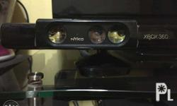 1 pc XBOX 360 console with kinect (asian version) 2 pcs