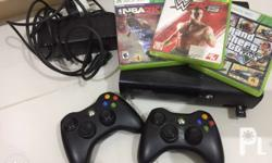 Package includes: XBOX 360 Console Kinect Sensor 2