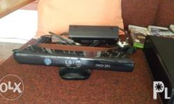 Item barely used. Console comes with kinnect and 2